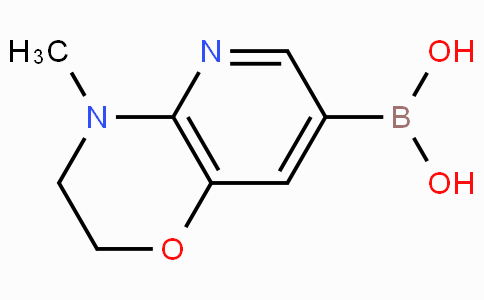4-Methyl-3,4-dihydro-2H-pyrido[3,2-B][1,4]oxazine-7-boronicacid