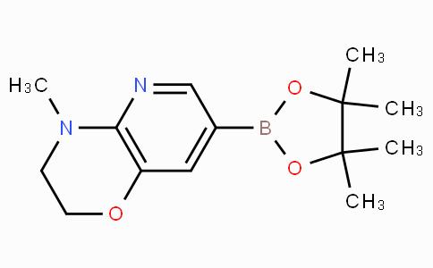 4-Methyl-3,4-dihydro-2H-pyrido[3,2-B][1,4]oxazine-7-boronicacidpinacolester