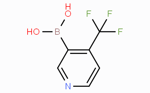 4-Trifluoromethylpyridine-3-boronicacid