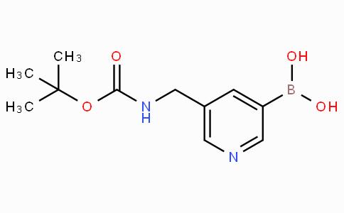 5-([tert-Butoxycarbonylamino]methyl)pyridine-3-boronicacid