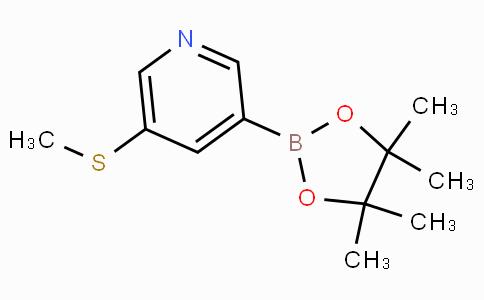 5-(Methylthio)pyridine-3-boronicacidpinacolester