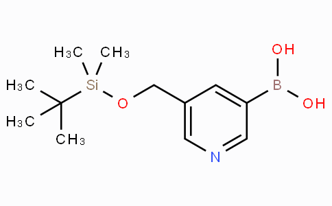 5-[(tert-butyldimethylsilyloxy)methyl]pyridine-3-boronicacid