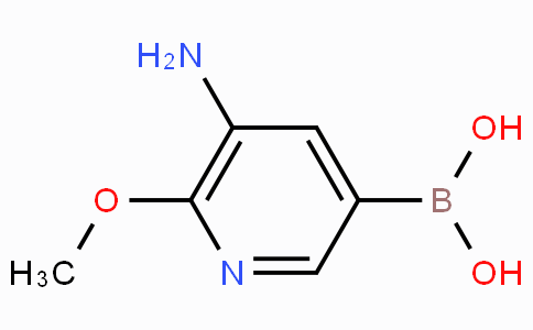 5-Amino-6-methoxypyridine-3-boronicacid