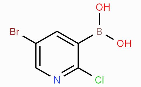 5-Bromo-2-chloropyridine-3-boronicacid