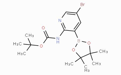 5-Bromo-2-tert-Butyloxycarbonylaminopyridine-3-boronicacidpinacolester