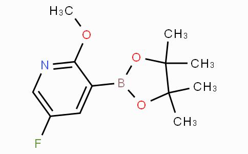 5-Fluoro-2-methoxypyridine-3-boronicacidpinacolester