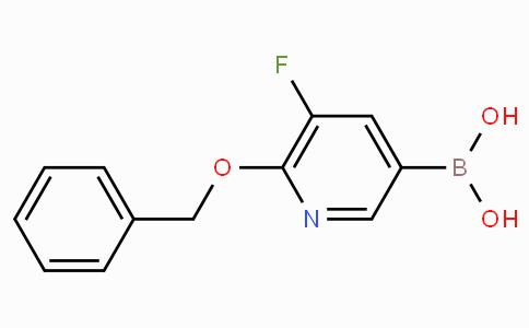 5-Fluoro-6-benzoxypyridine-3-boronicacid