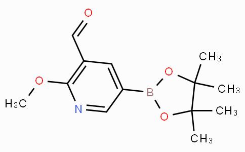 5-Formyl-6-methoxypyridine-3-boronicacidpinacolester