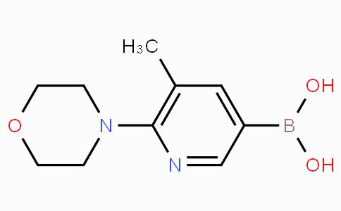 5-Methyl-6-morpholinopyridine-3-boronicacid