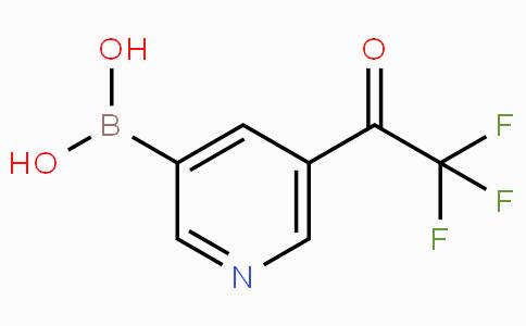 5-Trifluoroacetylpyridine-3-boronicacid