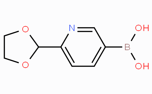 6-(1,3-Dioxolan-2-yl)pyridine-3-boronicacid