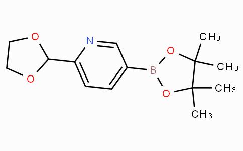 6-(1,3-二氧戊环-2-基)吡啶-3-硼酸正辛酯