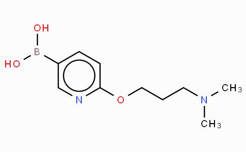 6-(3-N,N-Dimethylamino-propoxy)pyridine-3-boronicacid