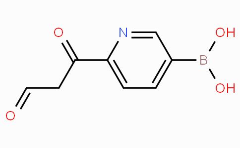 6-(3-Oxopropanoyl)pyridine-3-boronicacid