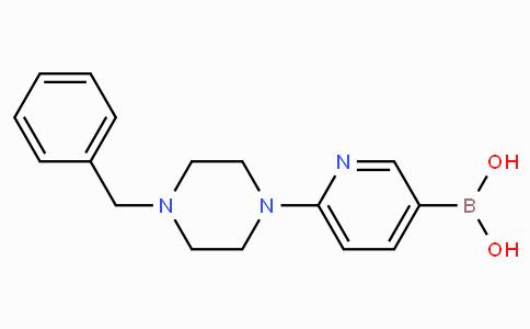 6-(4-Benzylpiperazin-1-yl)pyridine-3-boronicacid