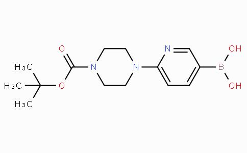 6-(4-N-Boc-piperazin-1-yl)pyridine-3-boronicacid