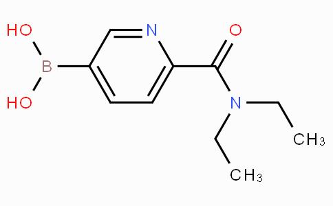 6-(Diethylcarbamoyl)pyridine-3-boronicacid