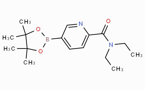 6-(Diethylcarbamoyl)pyridine-3-boronicacidpinacolester