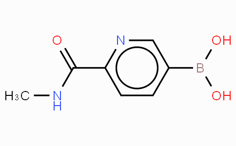 6-(N-Methylamidocarboxy)pyridine-3-boronicacid