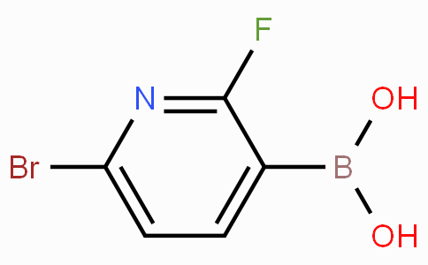 (6-溴-2-氟-3-吡啶)-硼酸