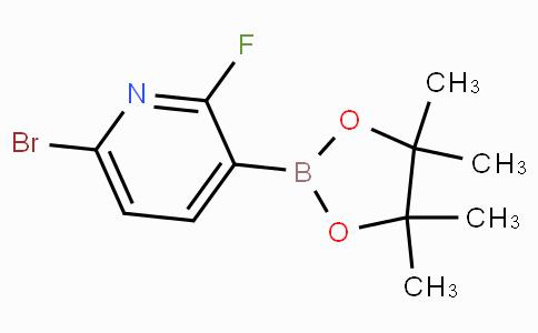 6-Bromo-2-fluoropyridine-3-boronicacidpinacolester
