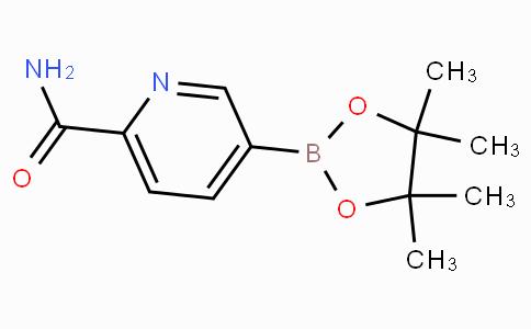 6-Carbamoylpyridine-3-boronicacidpinacolester