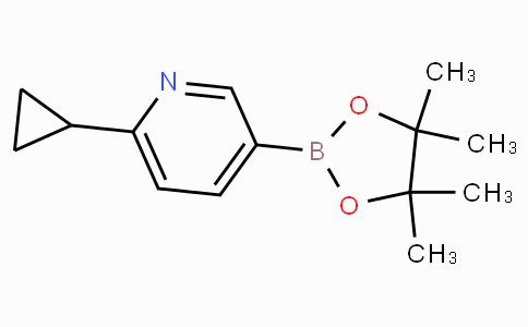 6-Cyclopropylpyridine-3-boronicacidpinacolester