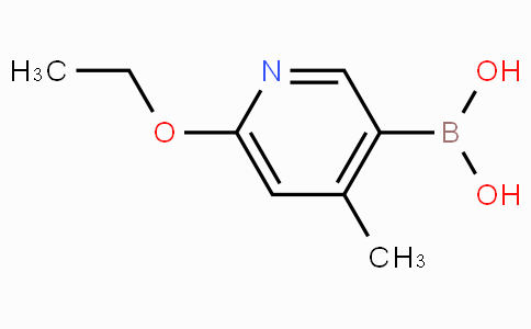 6-Ethoxy-4-methylpyridine-3-boronicacid