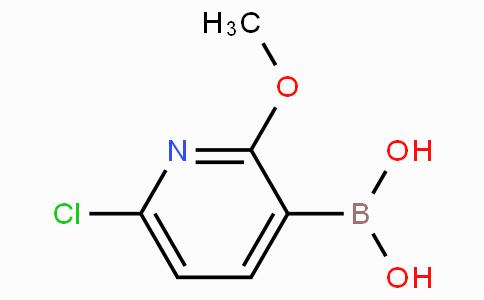 6-Chloro-2-methoxypyridine-3-boronicacid