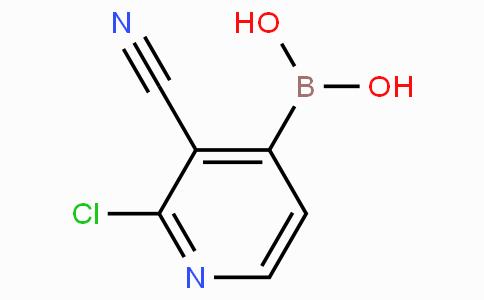 2-Chloro-3-cyanopyridine-4-boronicacid
