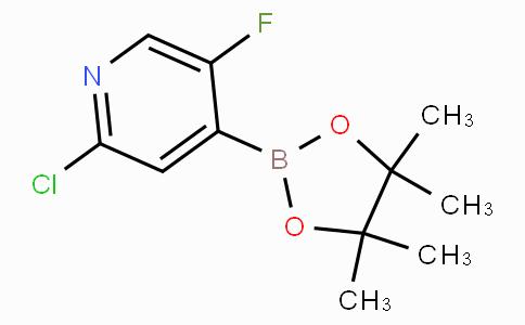 2-Chloro-5-fluoropyridine-4-boronicacidpinacolester