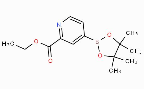 2-Ethoxycarbonylpyridine-4-boronicacidpinacolester