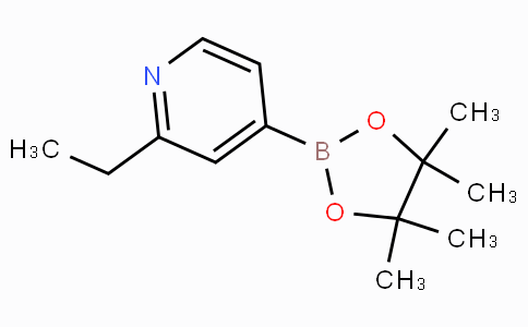 2-Ethylpyridine-4-boronicacidpinacolester