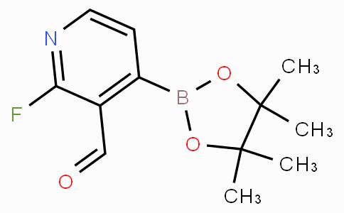 2-Fluoro-3-formylpyridine-4-boronicacidpinacolester