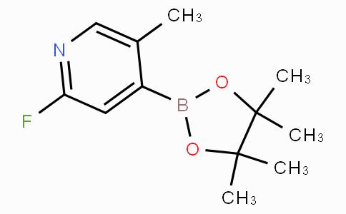 2-Fluoro-5-methylpyridine-4-boronicacidpinacolester