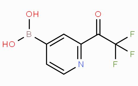 2-Trifluoroacetylpyridine-4-boronicacid