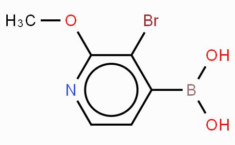 3-Bromo-2-methyoxypyridine-4-boronicacid