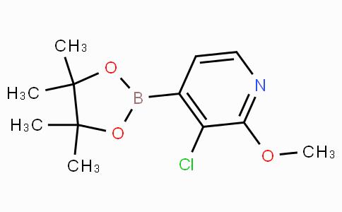 3-Chloro-2-methoxypyridine-4-boronicacidpinacolester