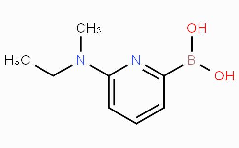 6-(Ethyl(methyl)amino)pyridin-2-ylboronic acid