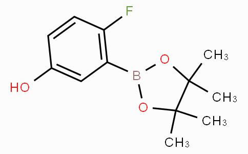 4-Fluoro-3-(4,4,5,5-tetramethyl-1,3,2-dioxaborolan-2-yl)phenol