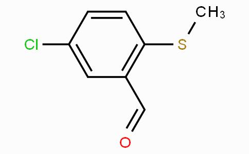 5-Chloro-2-(methylthio)benzaldehyde