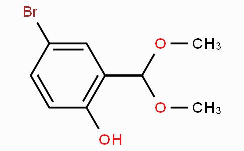 4-Bromo-2-(dimethoxymethyl)phenol