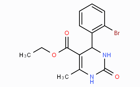 Ethyl 4-(2-bromophenyl)-6-methyl-2-oxo-1,2,3,4-tetrahydropyrimidine-5-carboxylate