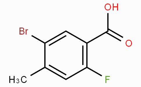 5-Bromo-2-fluoro-4-methylbenzoic acid