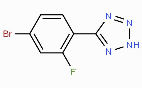 5-(4-Bromo-2-fluorophenyl)-2H-tetrazole