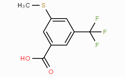 3-(Methylthio)-5-(trifluoromethyl)benzoic acid