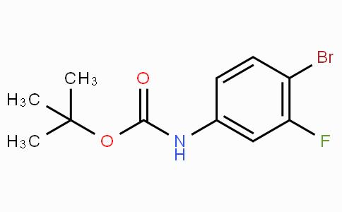 tert-butyl N-(4-bromo-3-fluorophenyl)carbamate