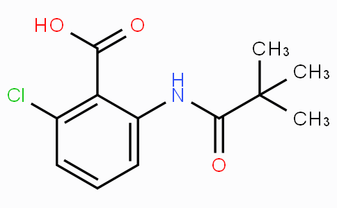 2-Chloro-6-(2,2-dimethylpropanamido)benzoic acid