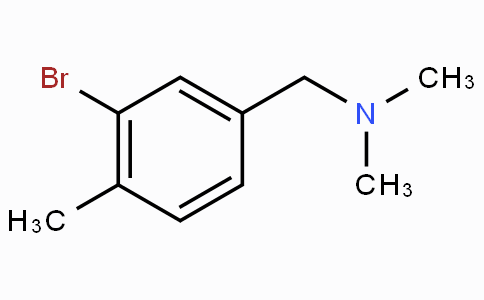 Dimethyl[(3-Bromo-4-methylphenyl)methyl]amine