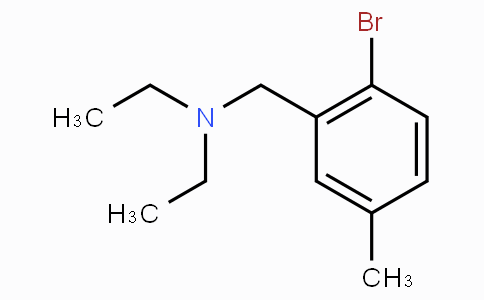 N,N-Diethyl-2-bromo-5-methylbenzylamine